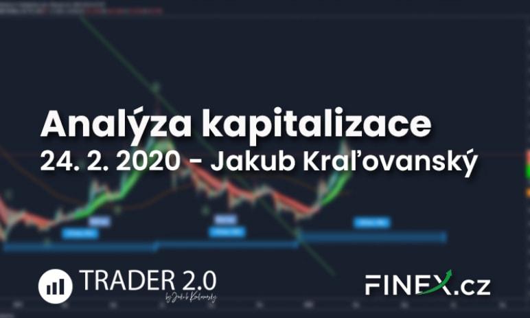 [Altcoiny] Analýza 24. 2. 2020 - Kapitalizace altcoinů