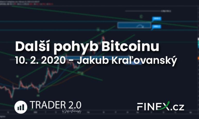 [Bitcoin] Analýza 10. 2. 2020 – Hlavný smer je UP a každý pohyb dole je len korekcia