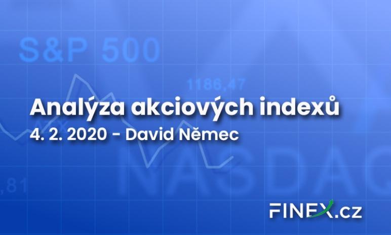 [Indexy] Analýza 4. 2. 2020 – Na shortování indexů je nyní brzo a zároveň pozdě
