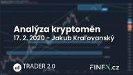 [Kryptoměny] Analýza 17. 2. 2020 – S nákupmi ešte radšej počkajte!
