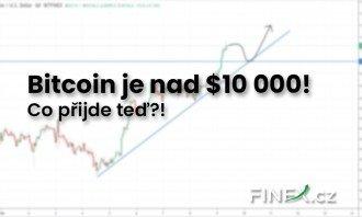 Bitcoin znovu proráží dlouho vyhlíženou hranici $ 10 000. Co přijde teď?