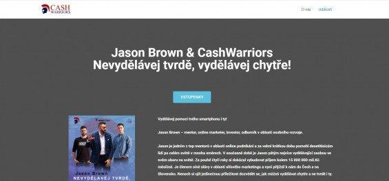 podvod cash warriors obchodovani