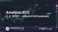 [Bitcoin] Analýza 3. 2. 2020 – Růst zatím nezastaví!