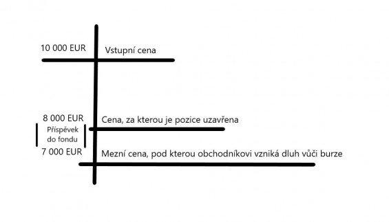 Schéma generování příjmu do pojistného fondu.