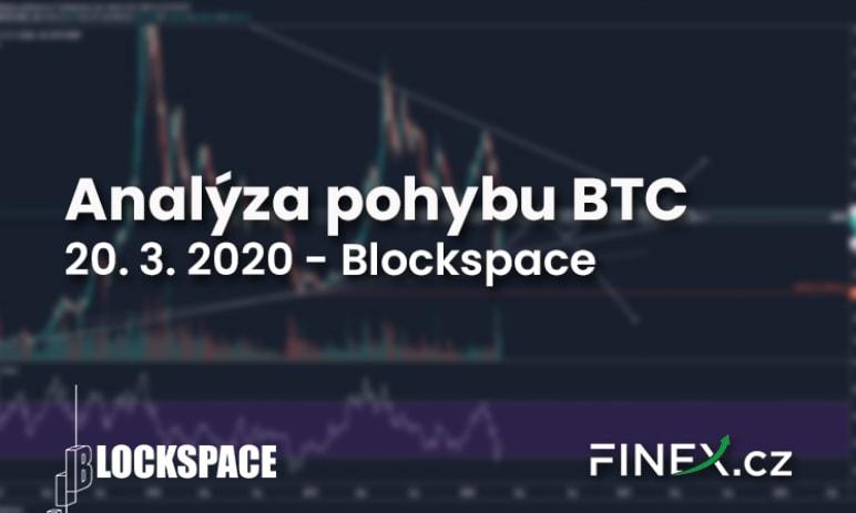 [Bitcoin] Analýza 20. 3. 2020 - Co znamená tento odraz BTC?