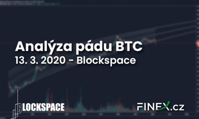 [Bitcoin] Analýza 13. 3. 2020 – Našel dnes Bitcoin své dno a můžeme se odrazit?