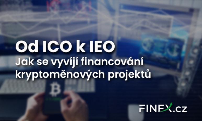 Od ICO k IEO - Jak se vyvíjí financování kryptoměnových projektů