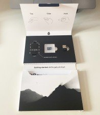 obsah balení peněženky BitBox