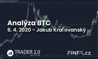 [Bitcoin] Analýza 6. 4. 2020 – Maximálne do 3 dní príde zásadný pohyb
