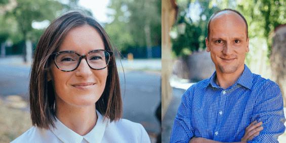 Honza a Eva Hlavsovi – zakladatelé investiční platformy Fondee