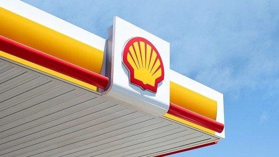 Shell logo čerpací stanice