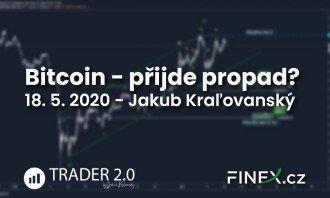 [Bitcoin] Analýza 18. 5. 2020 – Čo ďalej? Pôjdeme ešte nad 10 000 USD?