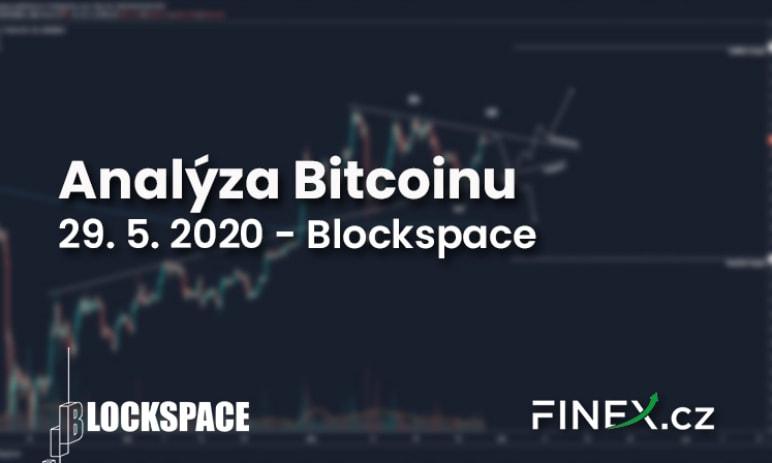 [Bitcoin] Analýza 29. 5. 2020 – Bitcoin v trojúhelníku - přetahování může začít