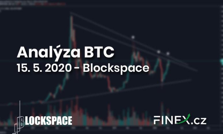 [Bitcoin] Analýza 15. 5. 2020 – Růst Bitcoinu slábne - tvoří se vrchol?