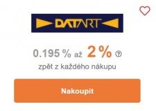 Tipli u Datartu nabízí až 2 % odměny. (zdroj: Tipli.cz)