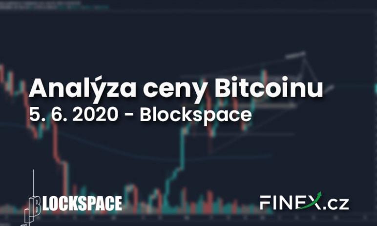 [Bitcoin] Analýza 5. 6. 2020 –  Bitcoin blízko rezistence - jaké známky distribuce sledovat?