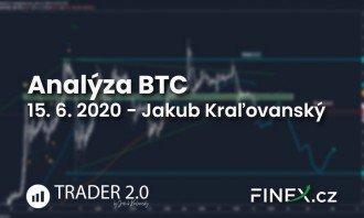 [Bitcoin] Analýza 15. 6. 2020 – Najbližšia zastávka 8 100 USD?