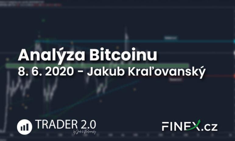 [Bitcoin] Analýza 8. 6. 2020 - Aktuálna situácia na Bitcoine