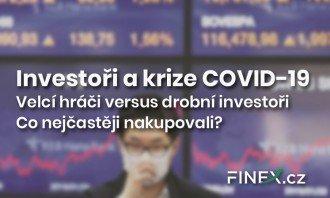 Investoři a krize COVID-19: Jak vypadá žebříček od sedmého místa a výše?