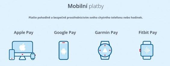 platby mobilem česká spořitelna