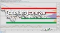 [Forex] Analýza CAD/USD – Silná ekonomická data z Kanady přinesla pouze vlažnou odezvu