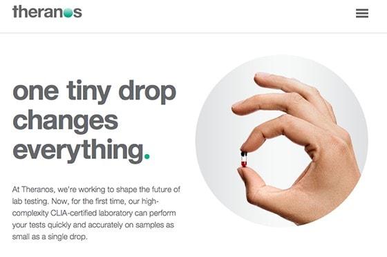 Theranos – podvodný technologický startup