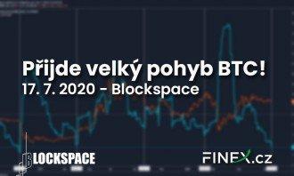 [Bitcoin] Analýza 17. 7. 2020 – Velký pohyb za dveřmi!