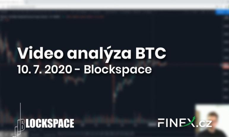 [Bitcoin] Analýza 10. 7. 2020 – Aktuální situace na BTC: proč jsem bearish?
