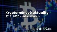 Kryptoměnové aktuality – Bitcoin prorazil $10 000, Ethereum jde dopředu a banky v USA už v tom létají taky!