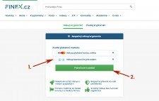 Jak koupit kryptoměny u Finex.cz převodem (1)