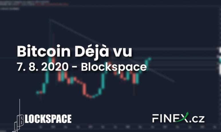 [Bitcoin] Analýza 7.8. 2020 – Bitcoin prožívá Déjà vu