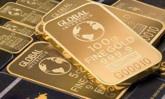zlato investiční slitky