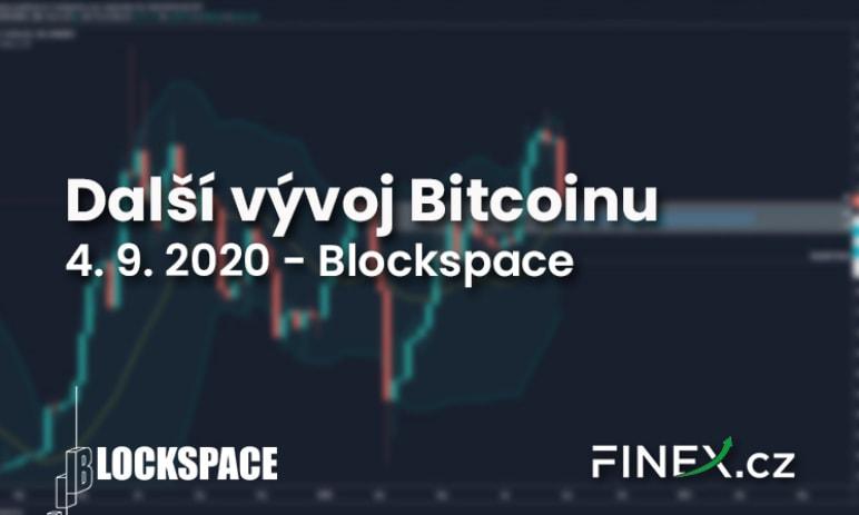 [Bitcoin] Analýza 4. 9. 2020 – Testujeme supporty, hlavně nepanikařit