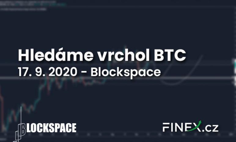 [Bitcoin] Analýza 17. 9. 2020 – Hledáme vrchol