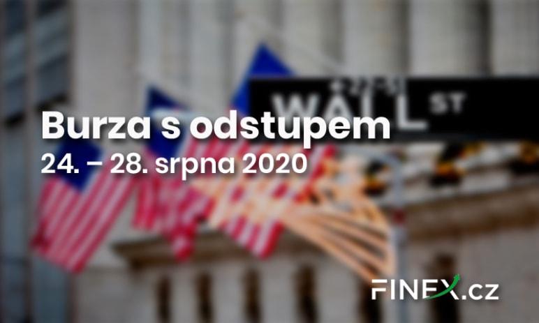 Burza s odstupem (24. – 28. srpna) – Trhy stále v rozporu s realitou. Čekání na korekci
