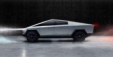Návrh připravovaného modelu pick-upu Cybertruck (zdroj: Tesla)