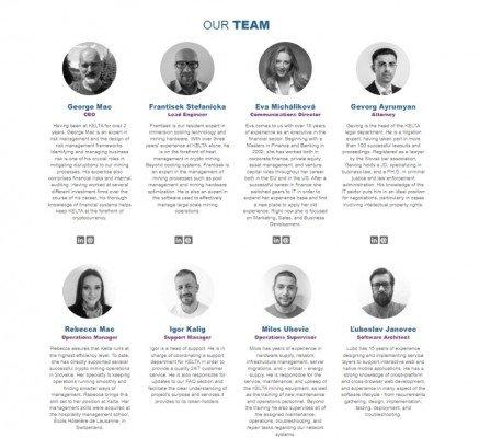 Jména členů týmu byla na oficiálním webu Kelty smazána (zdroj: Twitter)
