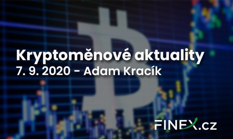Kryptoměnové aktuality - Klíčová hranice stále drží!