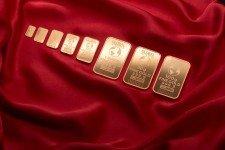 zlaté slitky golden gate