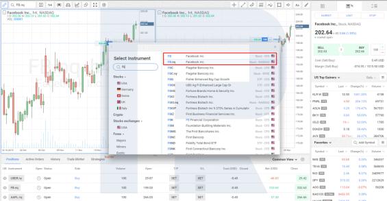 Nákup akcií v platformě R Trader