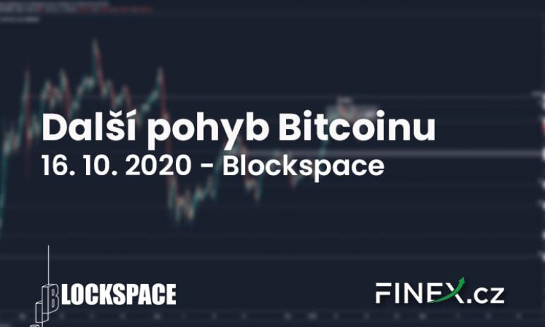[Bitcoin] Analýza 16. 10. 2020 - Jaký bude další pohyb? Bitcoin dává jasná vodítka