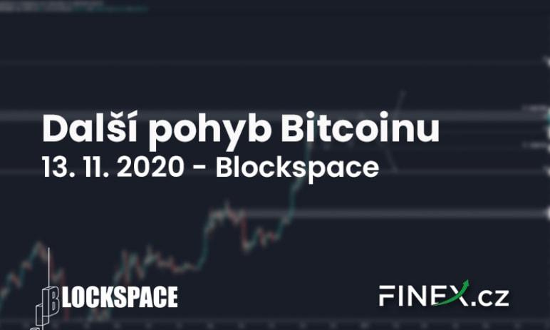 [Bitcoin] Analýza 13. 11. 2020 – Bitcoin v rezistenci. Jaký bude další silný pohyb?