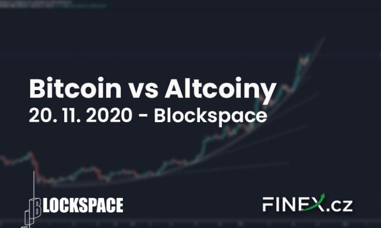 [Bitcoin vs Altcoiny] Analýza 20. 11. 2020 – Jakou příležitost nyní nechcete minout?