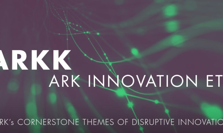 Největším aktivně řízeným ETF je nově Ark Innovation