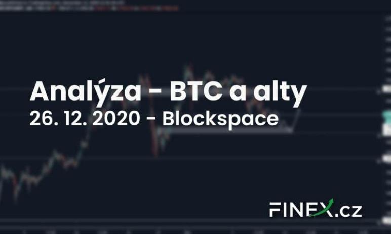 [Bitcoin + ETH] Analýza 26. 12. 2020 – Přijde ještě někdy pullback?
