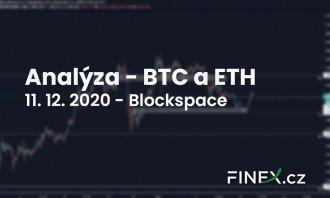 [Bitcoin + Ethereum] Analýza 11. 12. 2020 – Nejdůležitější úroveň na dohled