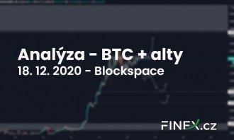[Bitcoin + Altcoiny] Analýza 18. 12. 2020 – Jak obchodovat na ATH?