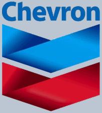 Logo společnosti Chevron