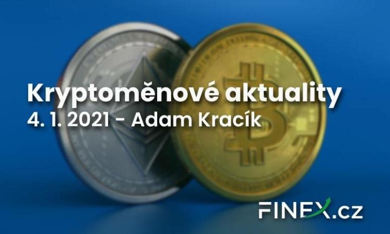 Kryptoměnové aktuality - Bitcoin slaví 12 let a tvoří dosavadní maximum na úrovni 34 700 USD