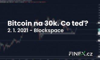 [Bitcoin] Analýza 2. 1. 2021 – 30 000 USD… Kam dál v novém roce?